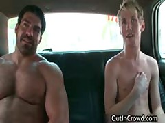 Homo Fucks And Sucks In A Truck Three By OutInCrowd