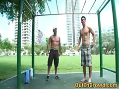 Hot Hetero Hunks Get Outed In Public Places Free Gay Clips 9 By OutInCrowd