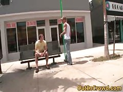 Muscual Gays Having Intercourse On The Roof 1 By OutInCrowd