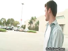 Exciting Public Place Homosexual Making Out 3 By OutInCrowd