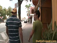 Gay Twink Sucks On The Street And Fucking On The Public Toilets 2 By OutInCrowd
