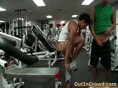 Gay Fuck In Public Gym 3 By Outincrowd