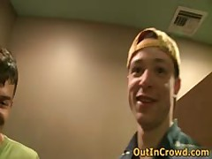 Gay Twink Sucks On The Street And Fucking On The Public Toilets 4 By OutInCrowd