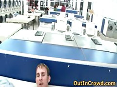 Horny Gays Having Sex In Public Laundry 2 By OutInCrowd