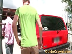 Horny Gays Fucking And Sucking In A Service Station 2 By OutInCrowd