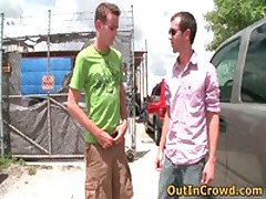 Horny Gays Fucking And Sucking In A Service Station 1 By OutInCrowd