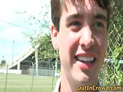 Cute Twink Enjoys Outdoor Gay Sex On The Grass 2 By OutInCrowd