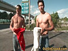 Hot Gay Sex On The Parking 5 By Outincrowd