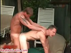 Scott Mann, Erik Mann, Ryan Foxx And Nino Gay Sex Gang Bang Three RedHotLatin