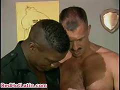 Dereck Bishop, Christopher Fleur De Lis And Marc West Homo Orgy Hard Core Three RedHotLatin