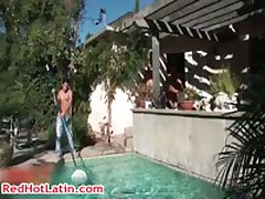 Ben Campezi, Dillon Press, Danny Lopez And Branden Star Gangbang 1 RedHotLatin
