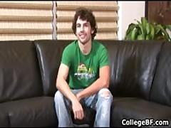 Glenn Philips Jerking His Fine School Weiner 1 By CollegeBF
