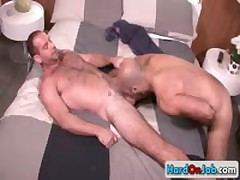 Lucky Bro Getting His Steamy Sack Licked 9 By HardOnJob