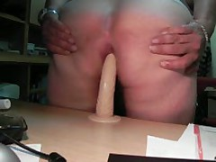 Dildo - On The Table With Close-Up