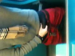 Wixen Auf Der Zugtoilette