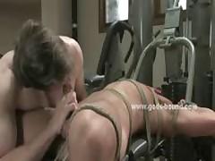 Shaved Naked Hunk In Nasty Bdsm Sex