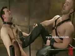 Strong Gay Beast Slapping His Sex Slave