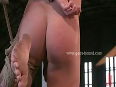 Gay Master In Leather Trains Bdsm Sex