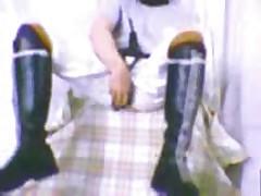 Skinhead Boots Wanking