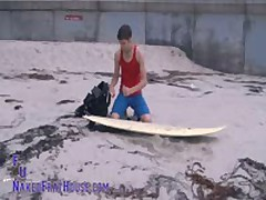 Big Dicked Surfer Twink