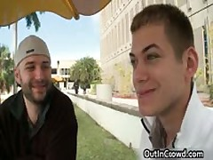 Buddy Gets His Small Arse Stuffed In Public Place 5 By OutInCrowd