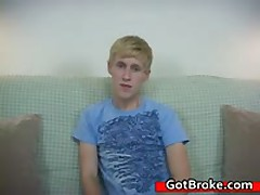 Blond Aiden Masturbating Gay Porn 1 By GotBroke