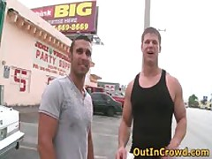 Hot Straight Guys Get Outed In Public Places 13 By OutInCrowd