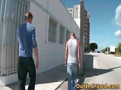 Hot Straight Men Get Outed In Public 1 By OutInCrowd