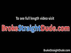 Homosexual Scene Of Hetero Bobby & Darren Sucking Jizzster For Monies 5 By BrokeStraightDude