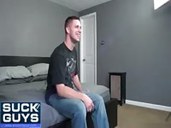 Walker Michaels Takes Cum
