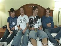 4 Way Oral Fun Gay Porn 1 By GotBroke
