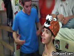 Fresh New School Dudes Get Homosexual Hazing 28 By GotHazed