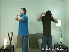 Braden And Jeremy Having Sex On A Lounge 2 By BrokeStraightDude