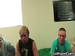 Fresh Hetero School Dudes Get Homo Hazing 25 By GotHazed