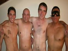 Gay-Straight Sex Party