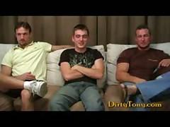 Two Str8 Studs Tag Teaming A Gay Bro