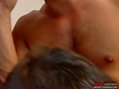 Four Muscular Men Fucking 2