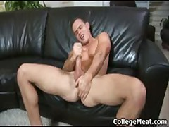 Devin Adams Wacking Off His Aroused School Penis Four By CollegeMeat