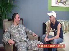 Str8 Army Officer Recieves First Gay...