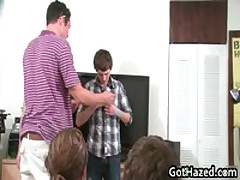 Fresh Heterosexual School Men Get Homosexual Hazing 90 By GotHazed