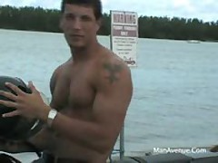 OMG...Straight Stud With Huge Dick Onboard