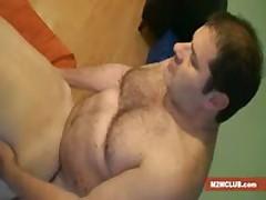 2 Daddies Fucking A Straight Guy