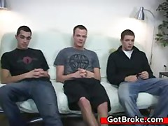 Cute Cj, Austin And Damien Gay Threesome Gay Sex 6 By GotBroke