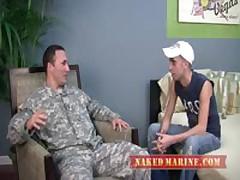 Str8 Army Officer Recieves First Gay...