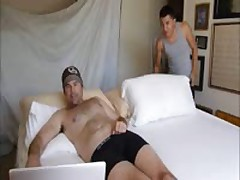 With Freddy On Bed