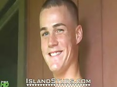 Young Surfer Dustin HUGE Load