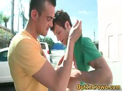 Hot Straight Hunks Get Outed In Public Places Free Gay Clips 6 By OutInCrowd