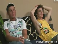 Heterosexual Bobby & Brody Fucked And Sucked 1 By BrokeStraightDude