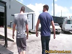 Hot Straight Hunks Get Outed In Public Places Gay Porno 1 By OutInCrowd