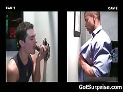 Hetero Bro Sticks His Hardon In Homo Glory Hole 7 By GotSurprise
